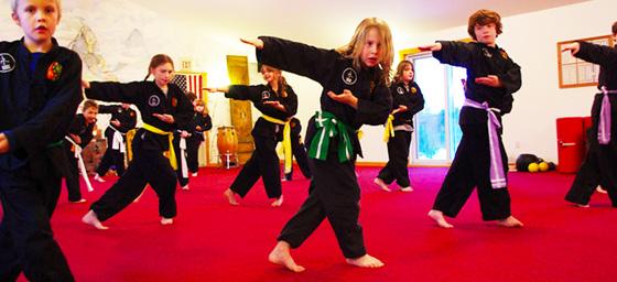 Les bienfaits des arts martiaux chez vos enfants