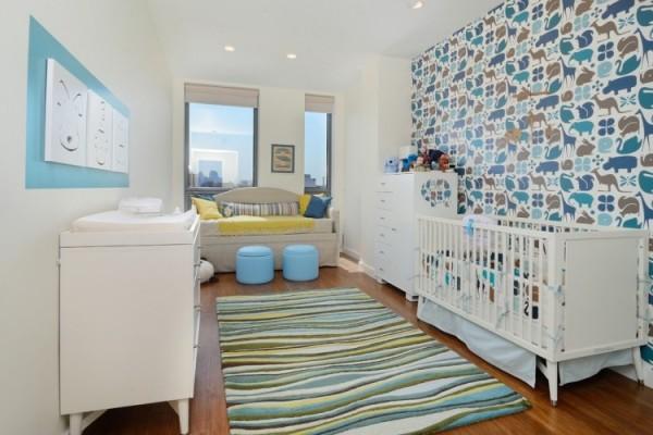 Les motifs et les couleurs de papier peint pour enfant