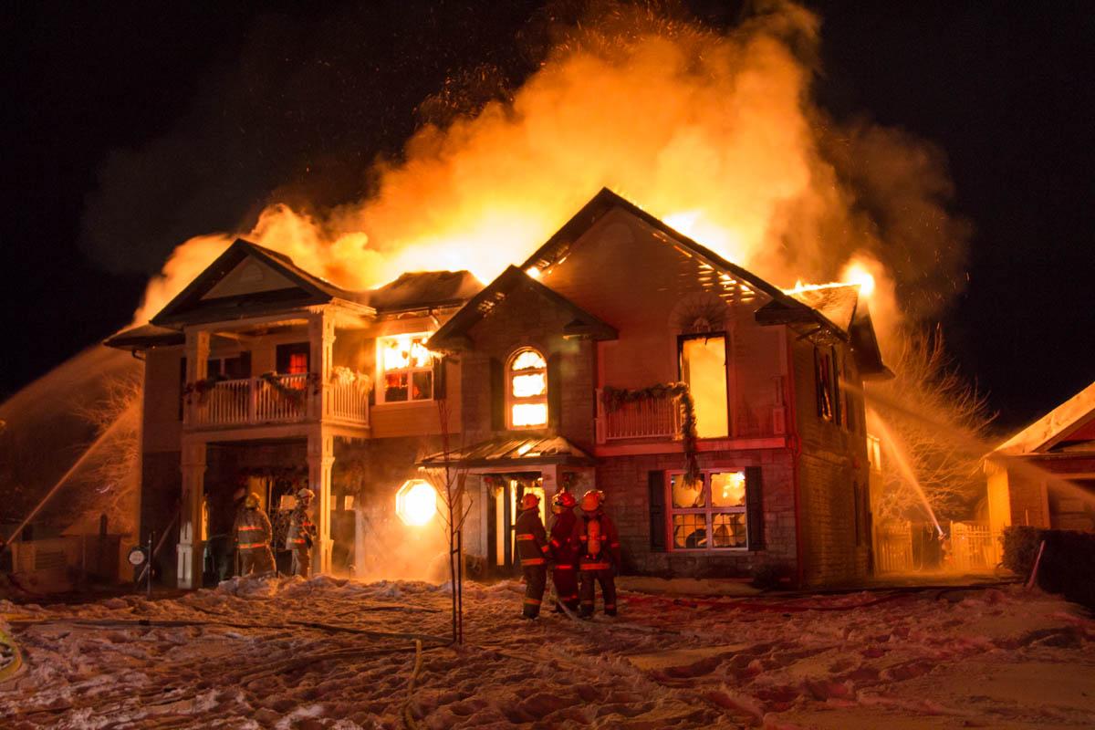 5 façons de protéger votre maison du feu