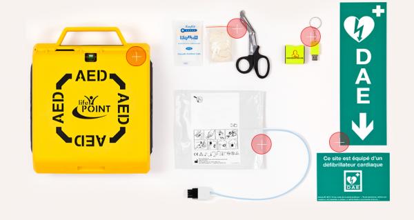 Les avantages d'un défibrillateur à portée de mains
