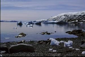Soleil de minuit au Groenland