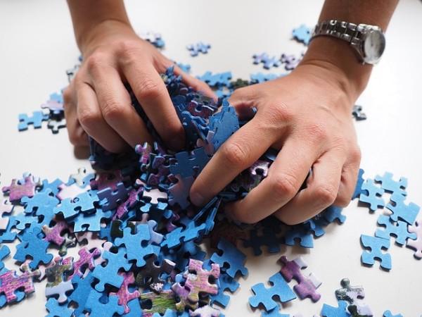 Garder un puzzle assemblé en bon état