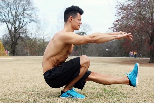 programme squat homme outdoor