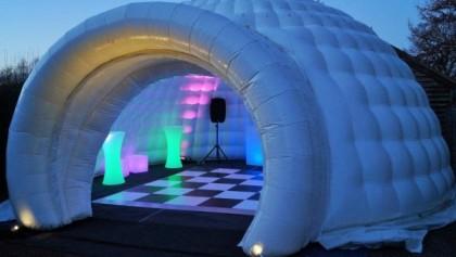 Structure gonflable pour votre prochain roadshow