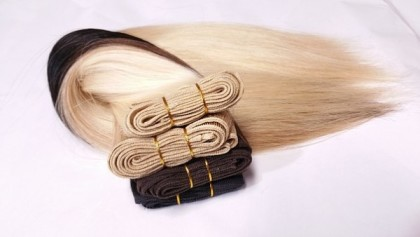 Se faire belle avec une extension de cheveux naturel