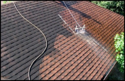 Faire appel à un spécialiste pour démousser sa toiture