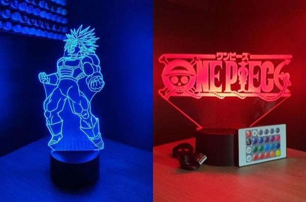 Lampe led manga : créez votre design sur-mesure